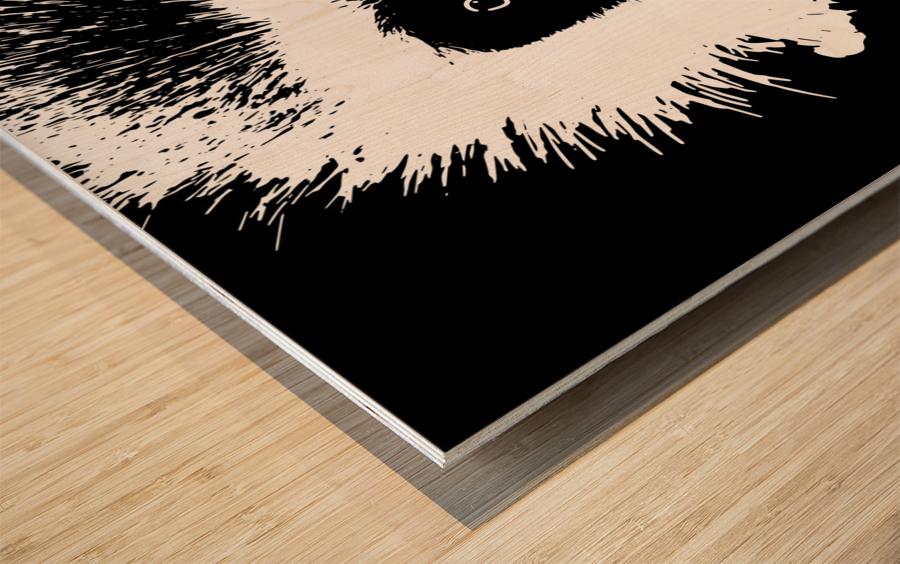 MOMO by dePace Wood print