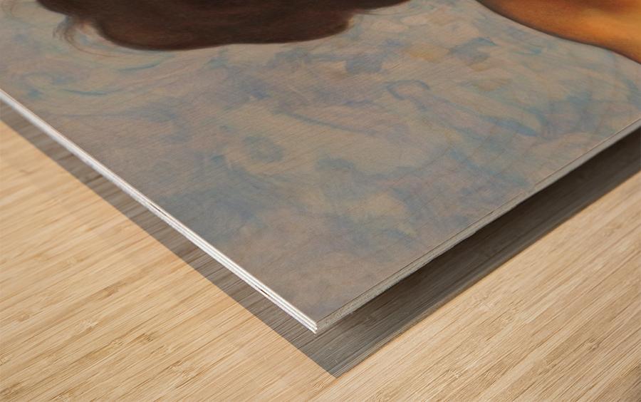 Sistine mood  Wood print