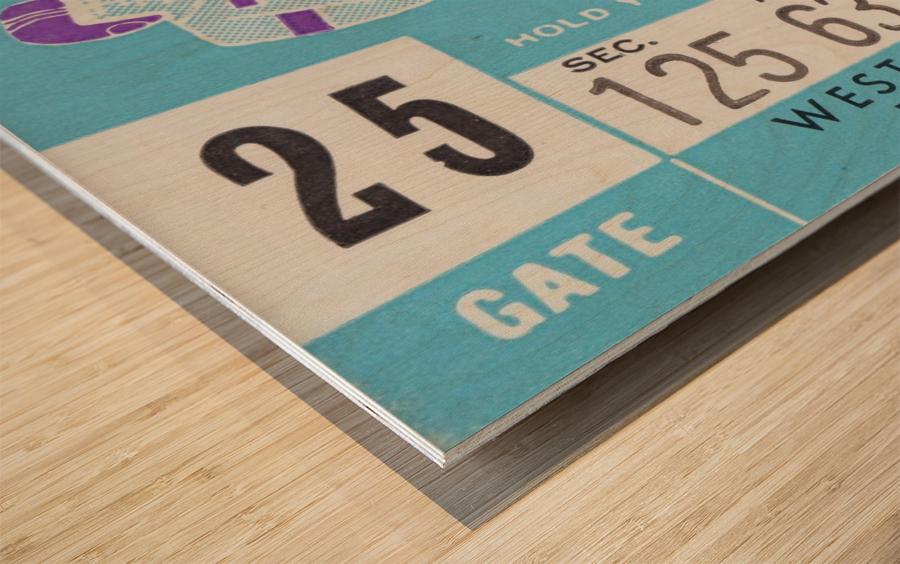 1959_College_Football_Northwestern vs. Indiana_Dyche Stadium_Row One Brand Tickets Wood print