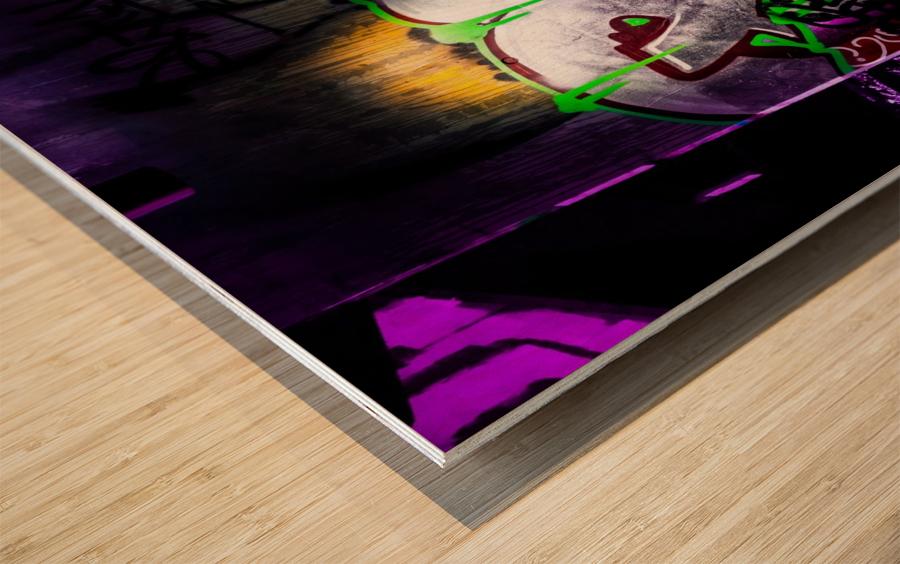 POW Wood print