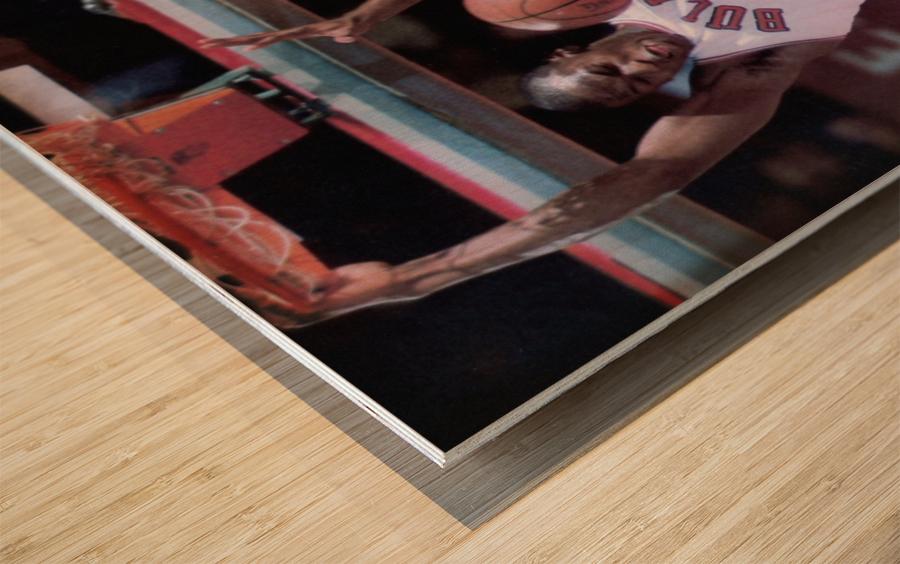 1985 Rising Star Michael Jordan Print  Wood print