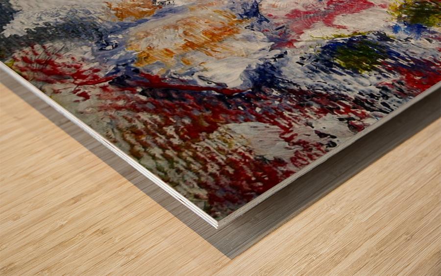 Vibrant Wood print