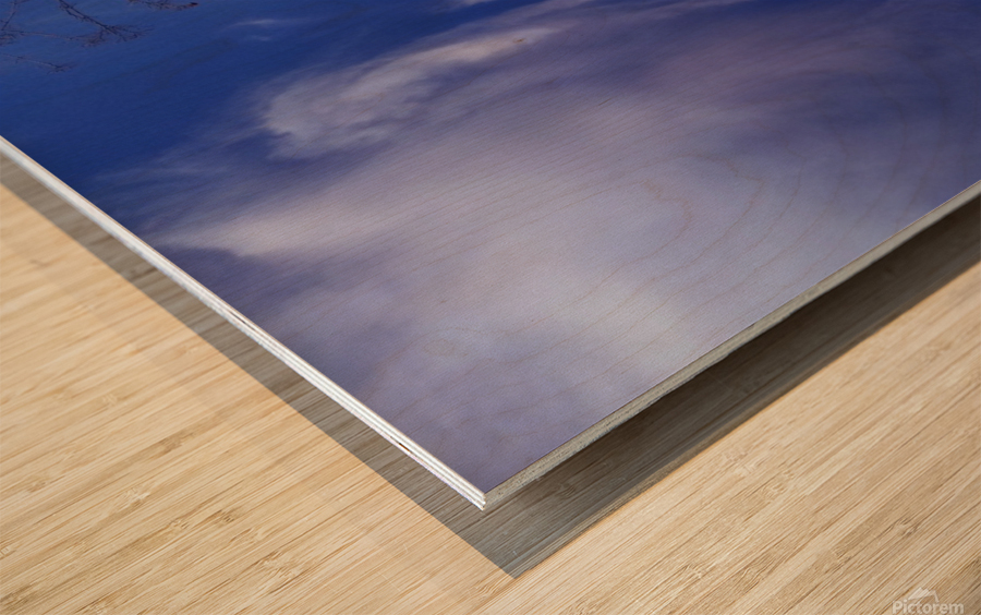 Cloudes 84 Wood print
