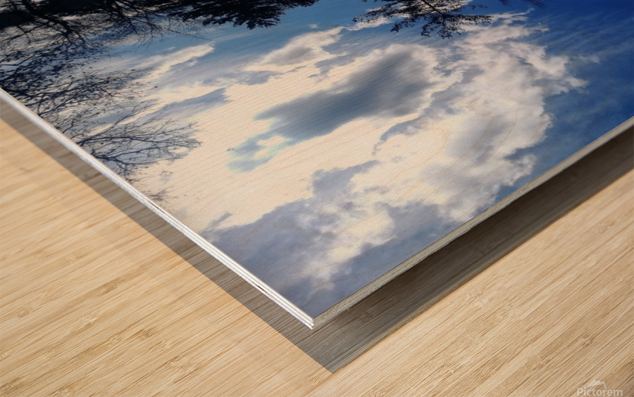 Cloudes 87 Wood print