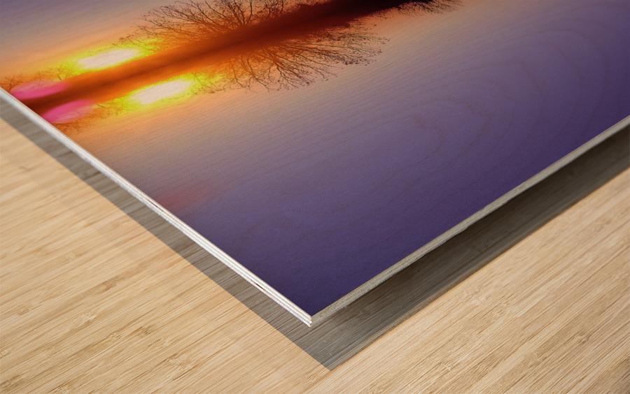 Cloudes 88 Wood print