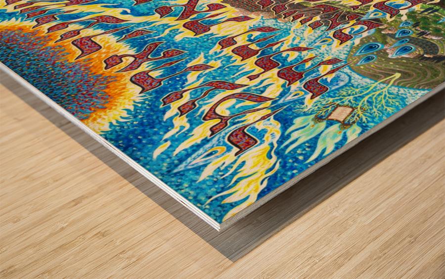 BNC1997-025 Wood print
