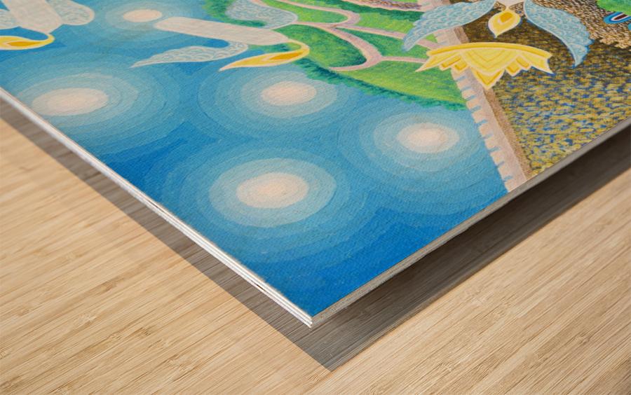 1992 04 Wood print