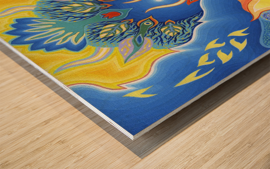 1999 027 Wood print