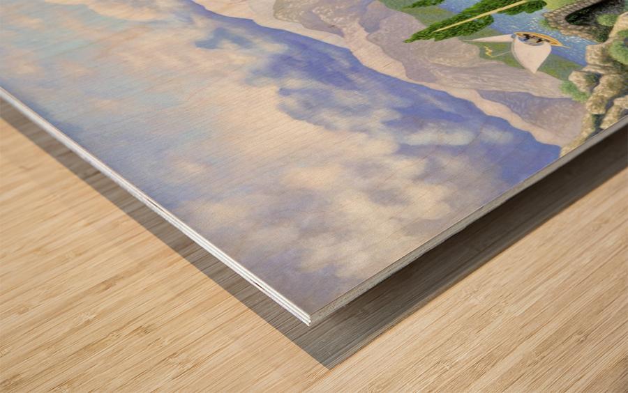 1993-019 Wood print
