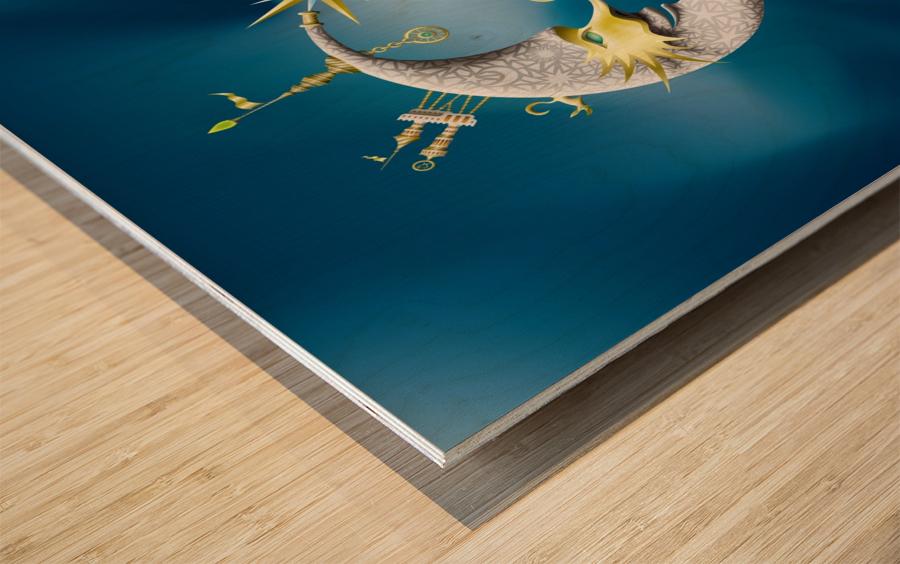 Marcelluna Metalli Wood print
