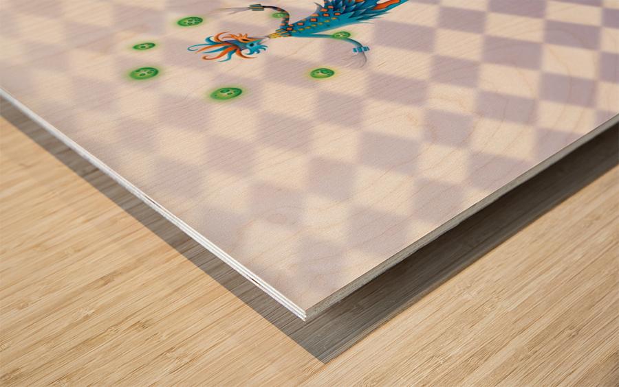 Noppo Arlecchino Sferino Wood print