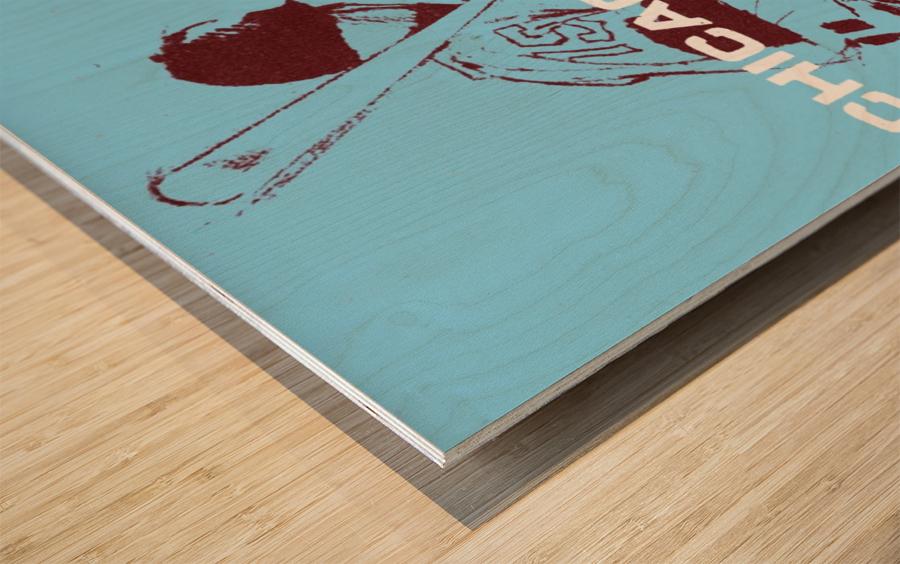 ChicagoWhiteSoxPoster_CheapBaseballPosters_UniqueChicagoGiftIdeas Wood print