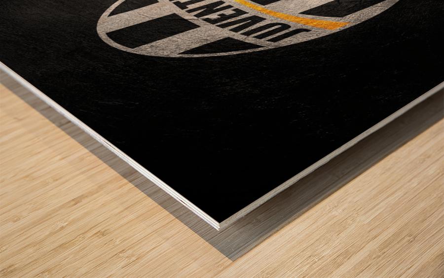 Juventus Wood print