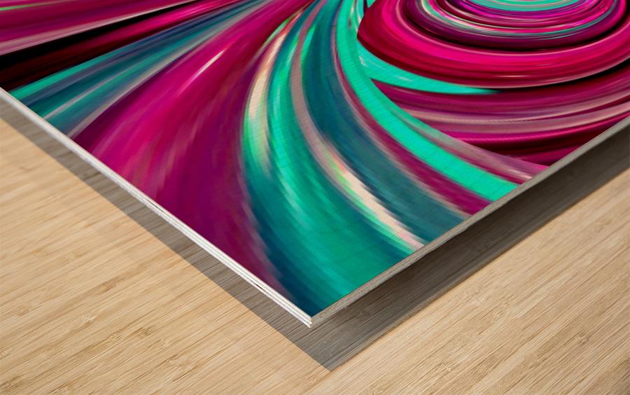 PERSPECTIVES 1B Wood print