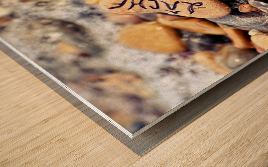 Imperatif present Wood print