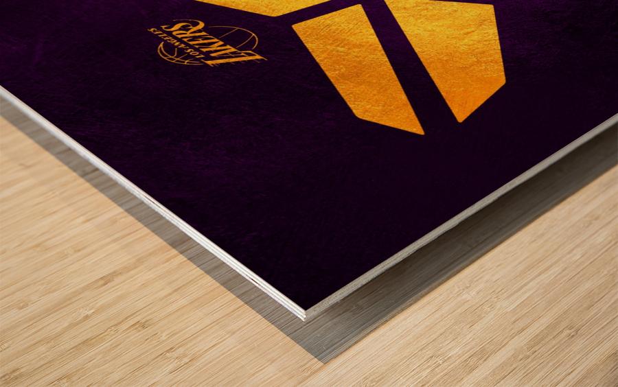 Kobe Bryant Tribute Wood print