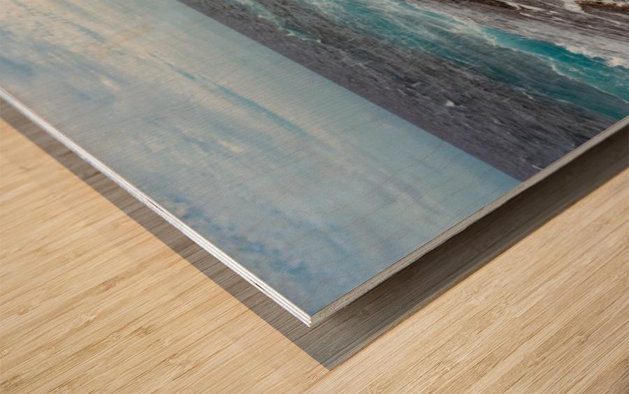 Water Under the Bridge Wood print