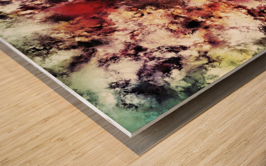 Compression Wood print
