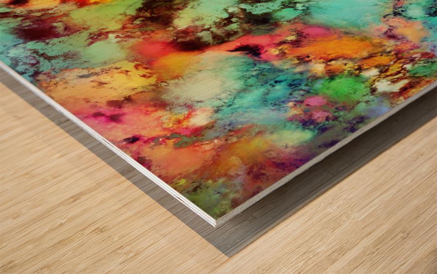 Crunch Wood print