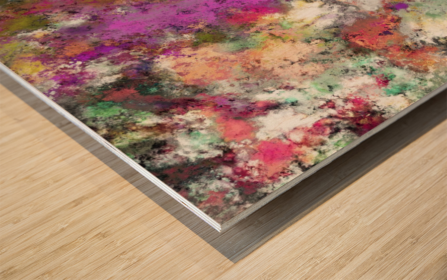 Debris Wood print