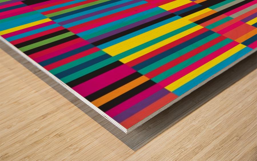 Perception Wood print
