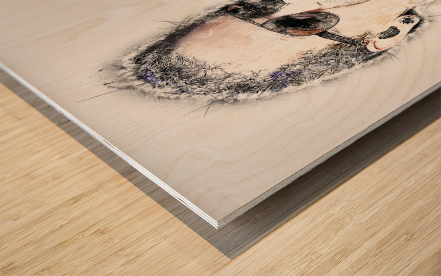 Chester Bennington Linkin Park Wood print