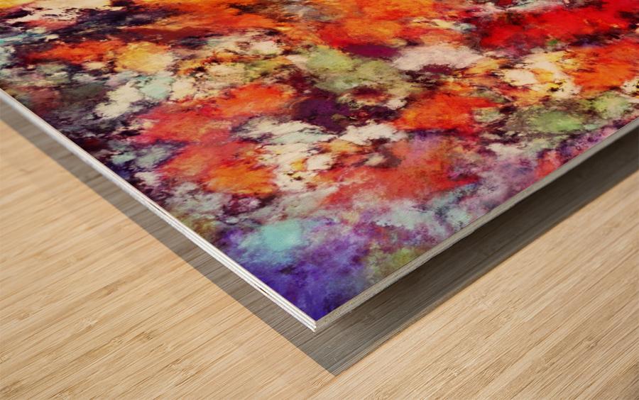 Illuminator Wood print