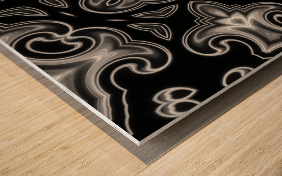 Fine art - Fractal Wood print