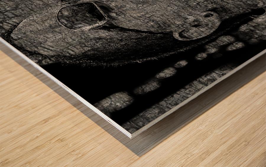 Chester Charles Bennington Wood print