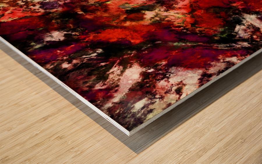 Impulse 3 Wood print