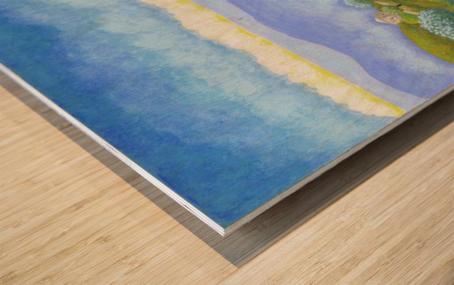 BNC2016-052 Wood print