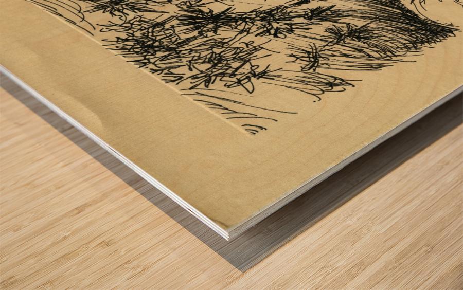 BNC1967-026 Wood print