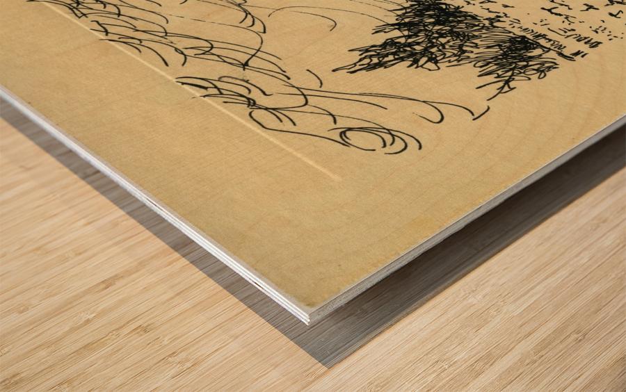 BNC1967-028 Wood print