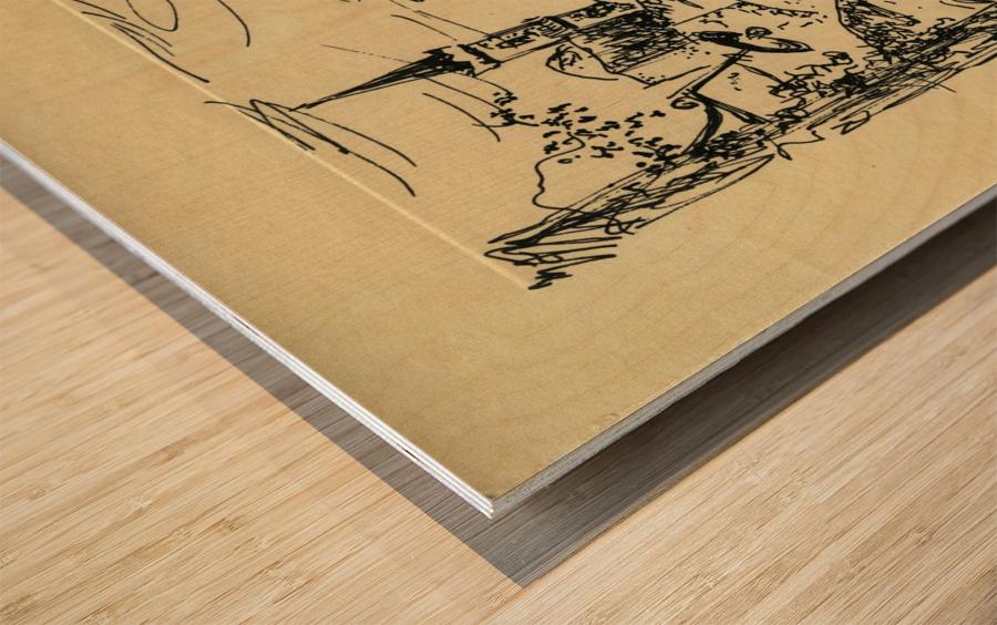 BNC1967-027 Wood print
