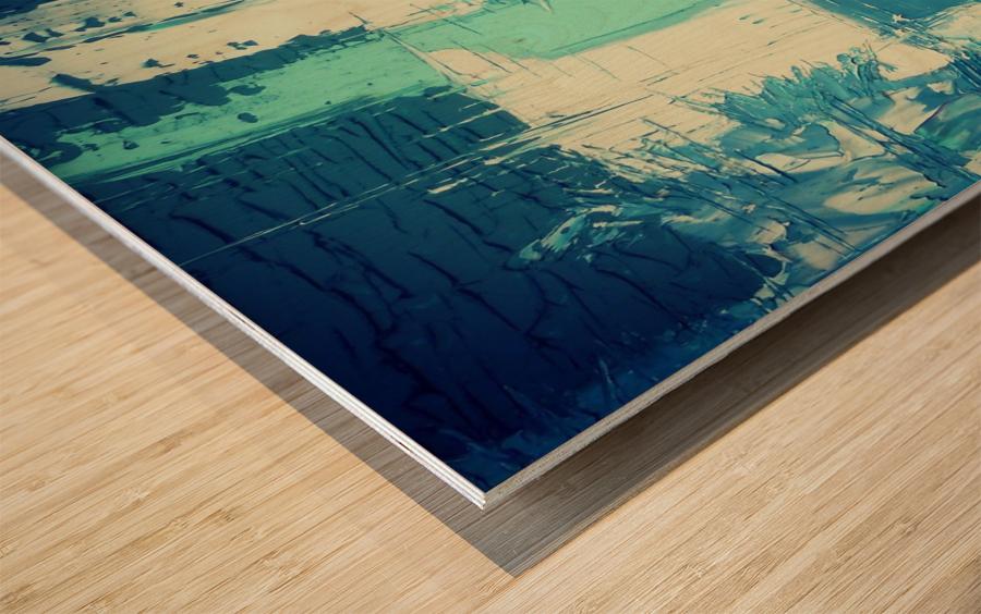 atlantis eternal Wood print
