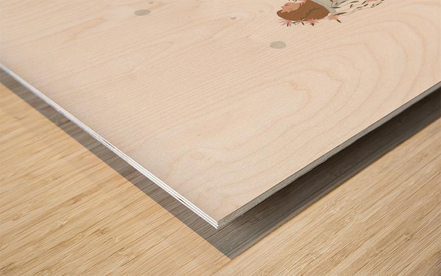 greentherapy Wood print