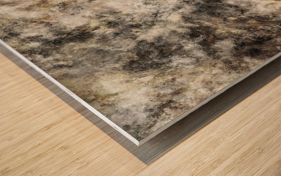 Residue Wood print