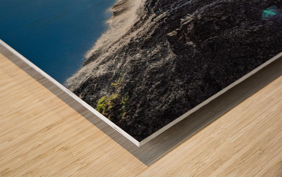 Alamere Falls Wood print