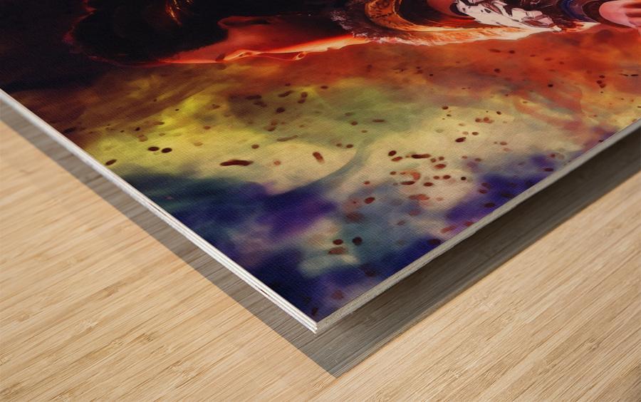 aloy   horizon zero dawn videogame Wood print
