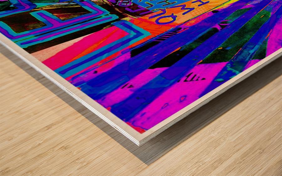 Lies Wood print