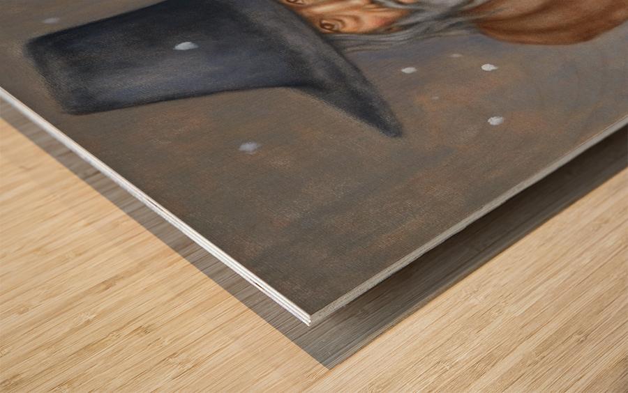 Vestige Wood print