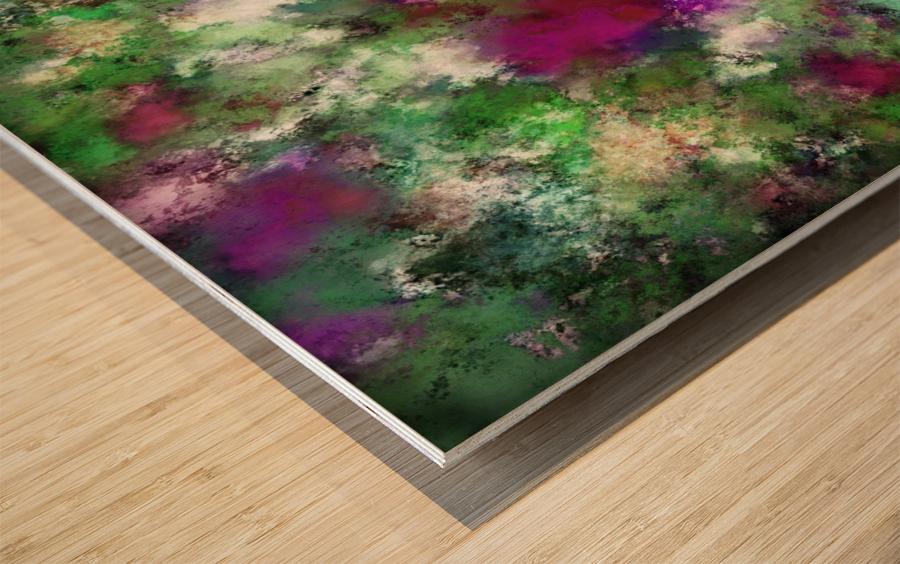 The visit Wood print