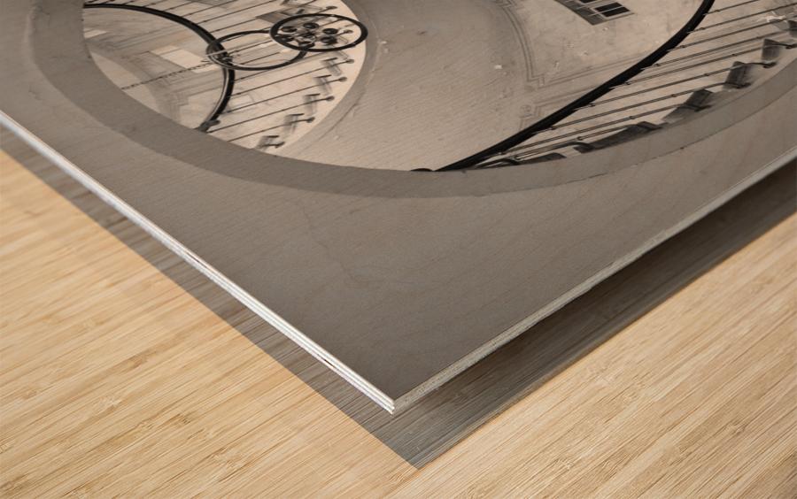 Escalier Monumental Wood print
