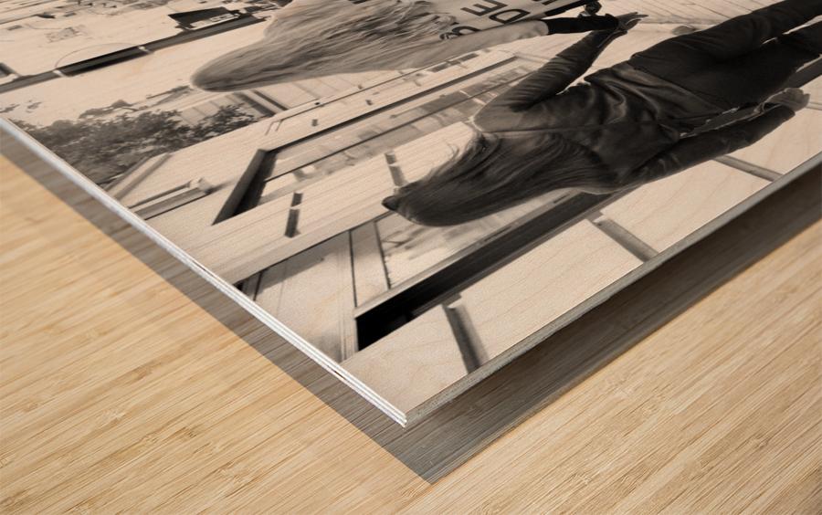 Bande de Meufs Wood print