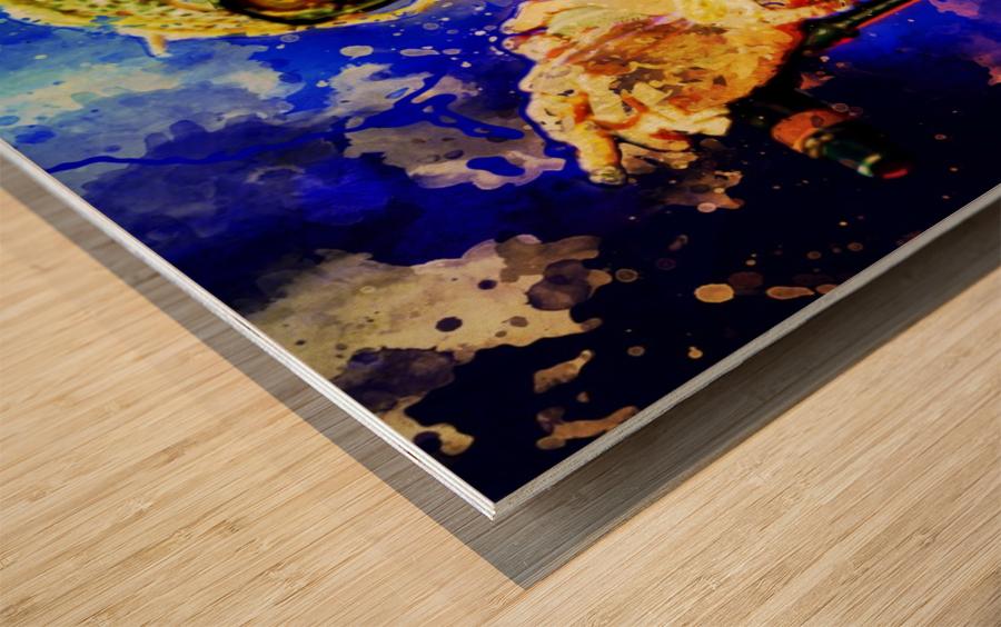 3 Wood print