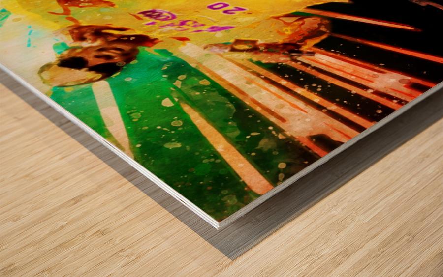 17 Wood print