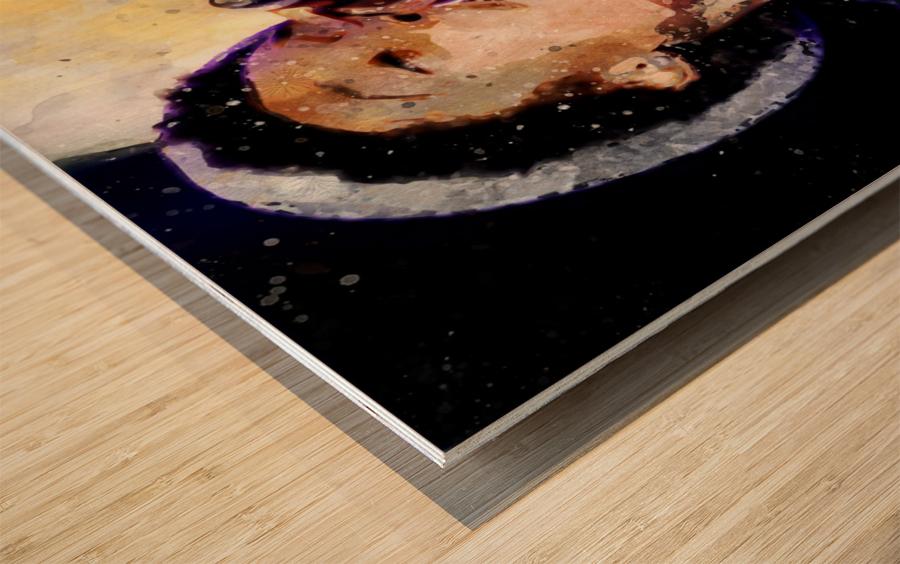 18 Wood print