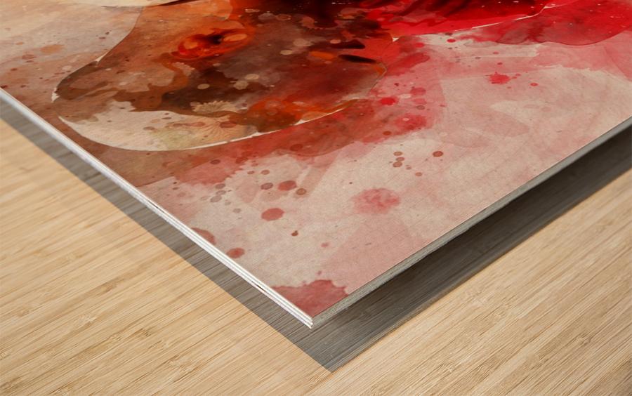 yu6 Wood print
