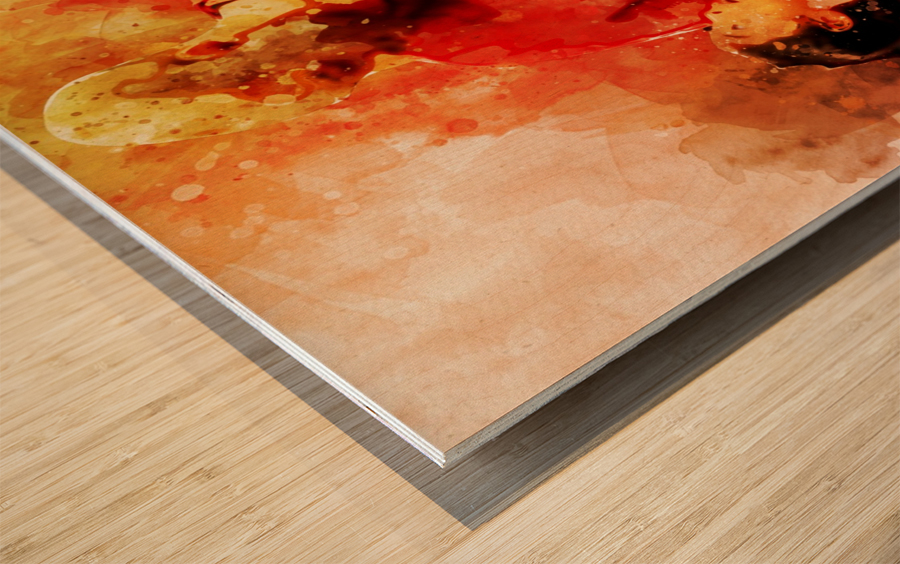 rthr Wood print