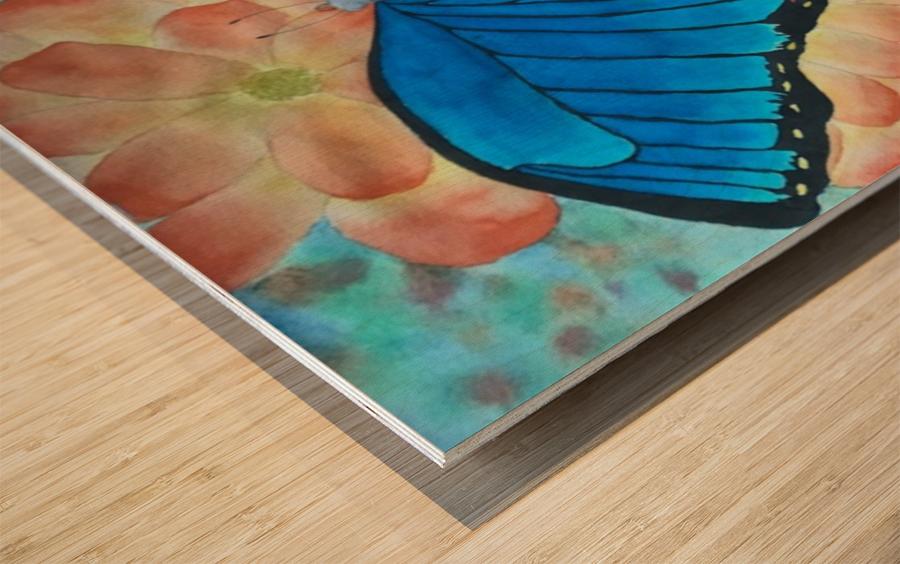 Emergence II Wood print